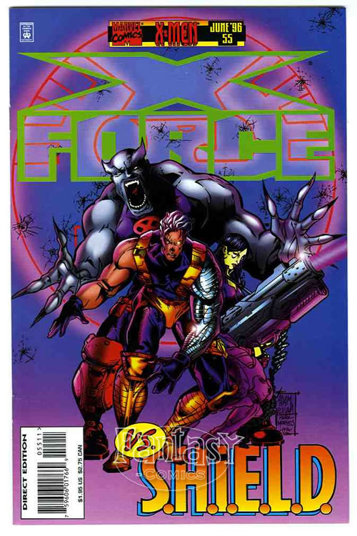 X-Force-55-1996-NM-9-6-Marvel-Comic-Book